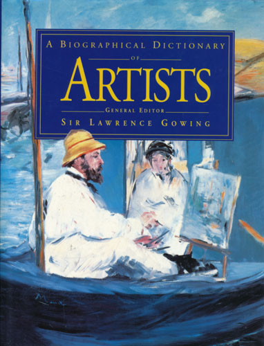 A Biographical Dictionary of Artists.