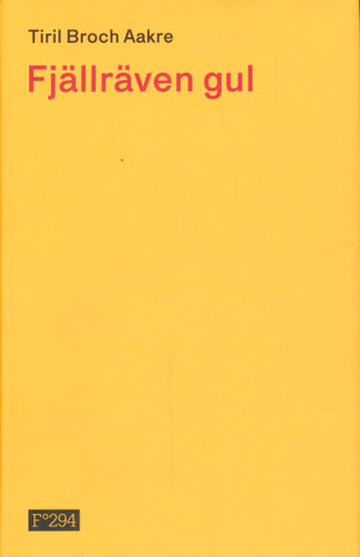 Fjällräven gul.