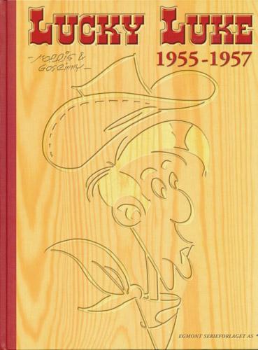 Lucky Luke 1955 - 1957. Jernhesten. Blåføttene kommer. Joss Jamons gjeng.
