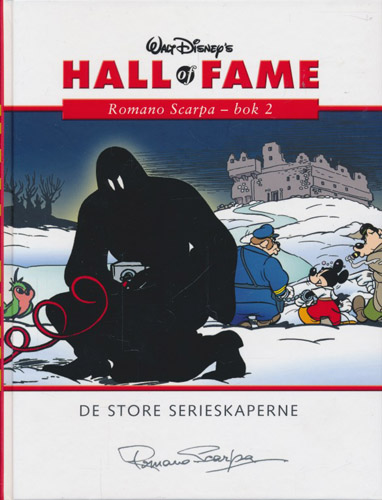 (DISNEY) WALT DISNEY'S HALL OF FAME:  Romano Scarpa - bok 2.