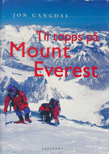 Til topps på Mount Everest.