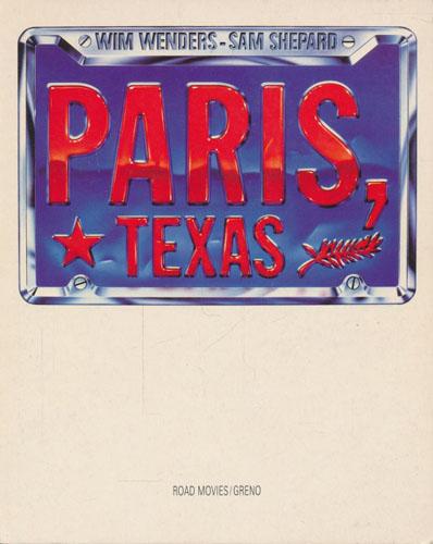 Paris, Texas. Edited by Chris Sievernich.