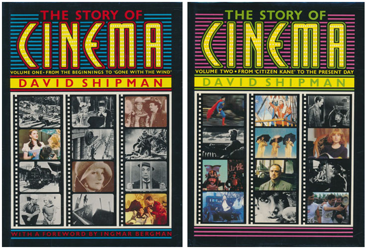 The Story of Cinema. An Illustrated History. Preface by Ingmar Bergman.