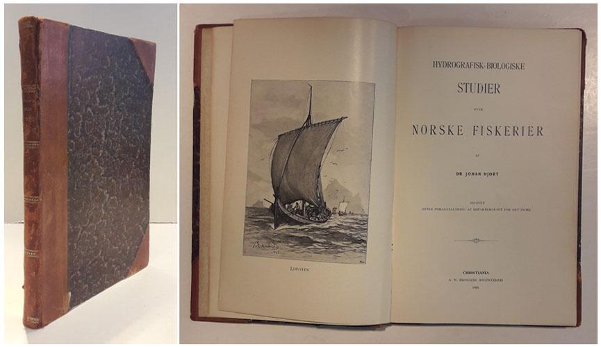 Hydrografisk-biologiske studer over norske fiskerier.