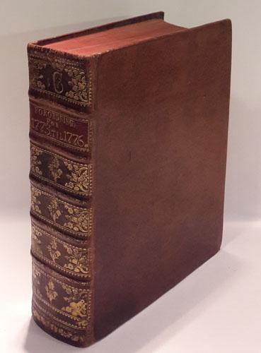 (CHRISTIAN VII) Kong Christian den Syvendes Allernaadigste Forordninger og Aabne Breve for Aar 1773-76