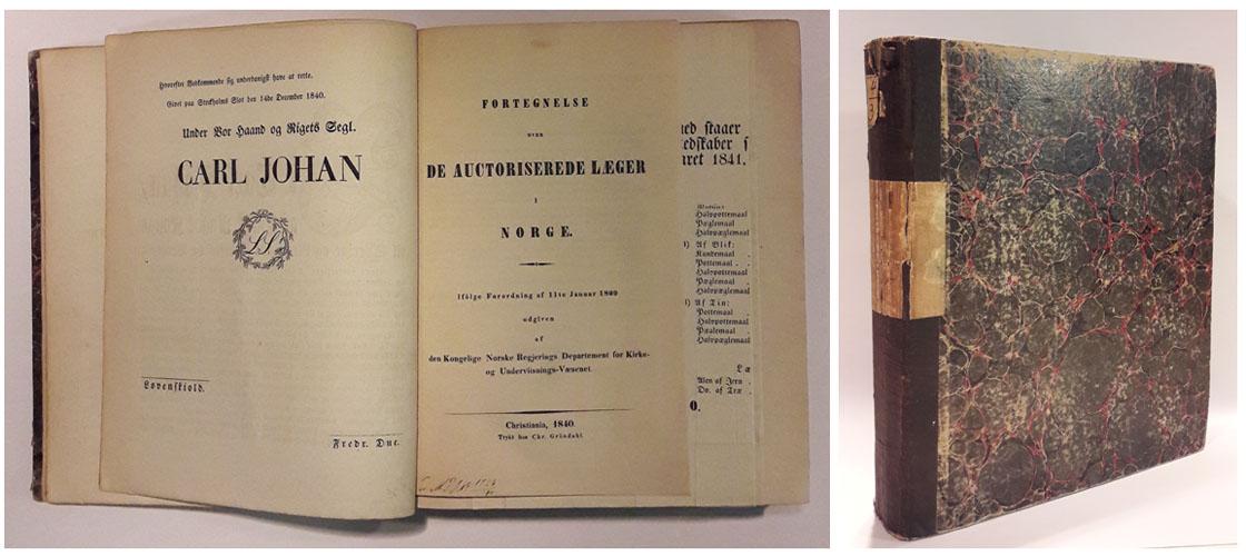 LOVE OG TRACTATER 1840-1847.  Samling på ca. 70 Love, Kundgjøringer, Plakater og Anordninger.