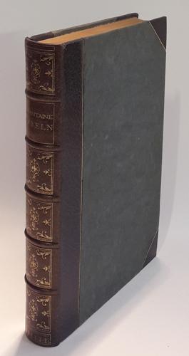 Die Fabeln des Jean de Lafontaine. Ins deutschen übertragen von Theodor Etzel. Mit reproduktionen nach den kupfern von J.B. Oudry.