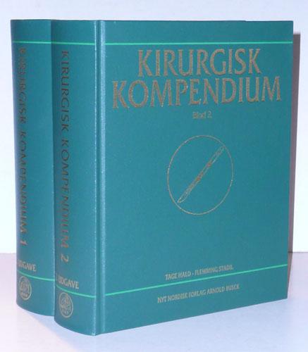 KIRURGISK KOMPENDIUM.  Redigeret af Tage Hald - Flemming Stadil.