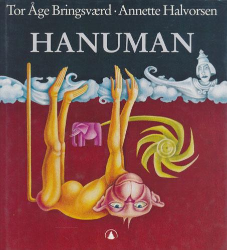 Hanuman. Apeguden. Illustrert av Annette Halvorsen.