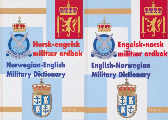 Norsk - engelsk militær ordbok. / Engelsk - norsk militær ordbok.