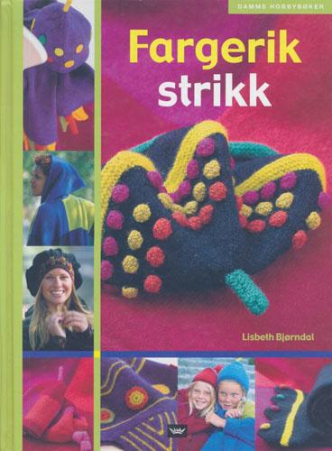 Fargerik strikk.