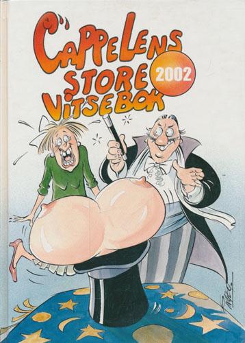 Cappelens store vitsebok 2002. Illustrert av Inge Grødum.