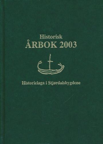 (STJØRDAL) HISTORISK ÅRBOK.  Redaktør Jon Roar Fiskvik.