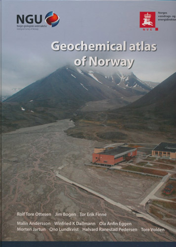 Geochemical atlas of Norway. Part 2: Geochemical atlas of Spitsbergen. Chemical composition of overbank sediments.