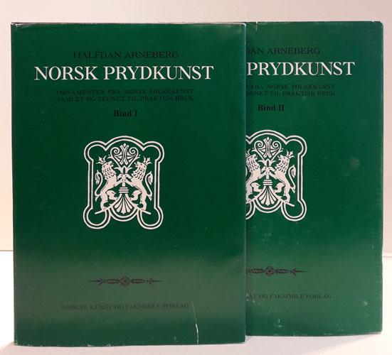 Norsk prydkunst. Ornamenter fra norsk folkekunst samlet og tegnet til praktisk bruk.