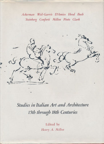 Studies in Italian Art and Architecture, 15th through 18th Centuries.
