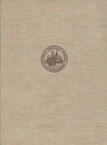 SJÖHISTORISK ÅRSBOK 1950.  Redaktör: Museidirektör Gerhard Albe.