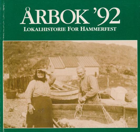 (HAMMERFEST) ØYFOLK 1992.  Årbok for lokalhistorie og kultur i Hammerfest.