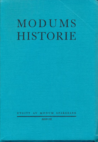 Modums historie. Register, matrikkel.