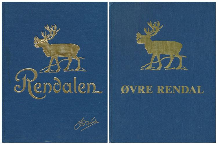 (RENDALEN) Øvre Rendalen. Gårdenes og slektenes historie. Avsluttet av Hjalmar Bull. / Øvre Rendal. Gardenes og slektenes historie (Bind II).