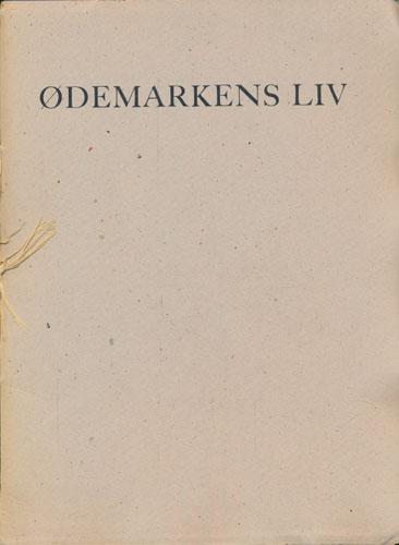 Ødemarkens liv. En vintersolvervshilsen i det år 1954.