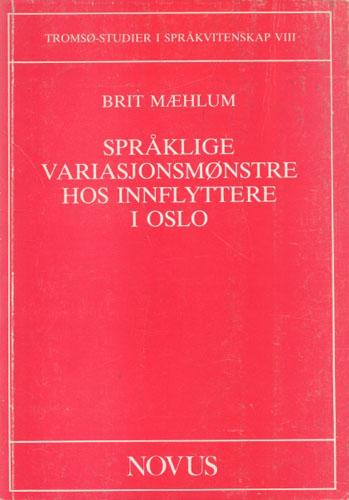 Språklige variasjonsmønstre hos innflyttere i Oslo.
