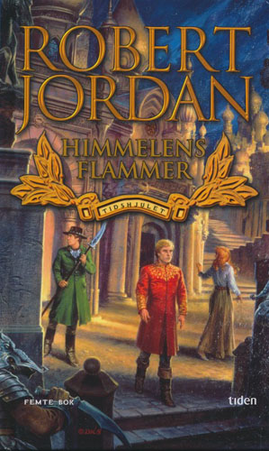 Himmelens flammer. Tidshjulet - femte bok.