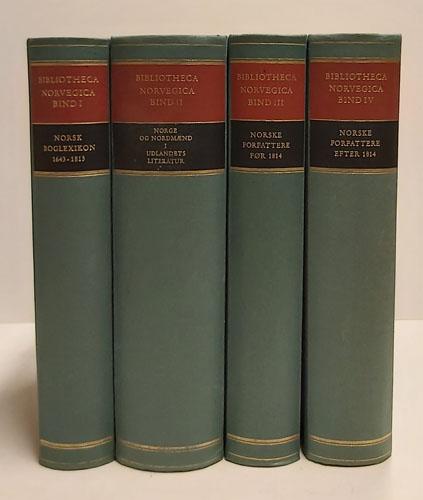 Bibliotheca Norvegica.