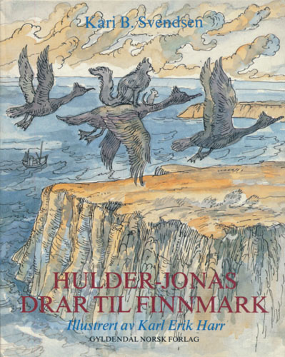 Hulder-Jonas drar til Finnmark.
