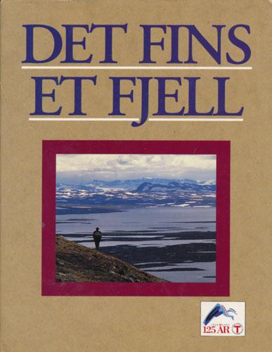 (DEN NORSKE TURISTFORENING) Det fins et fjell. Den Norske Turistforening 1868-1993.