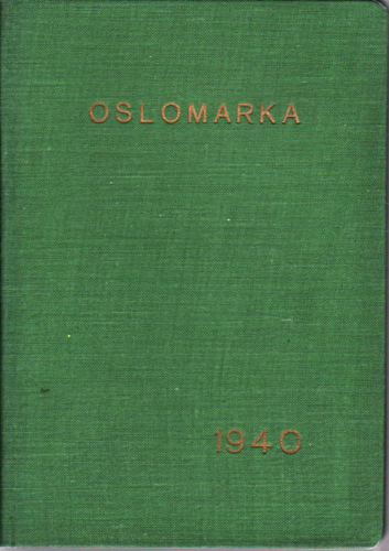 OSLOMARKA.  Håndbok for friluftsfolk.