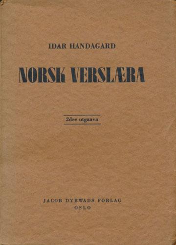 Norsk verslæra.