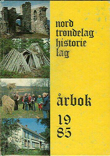 NORD-TRØNDELAG HISTORIELAG.  Årbok
