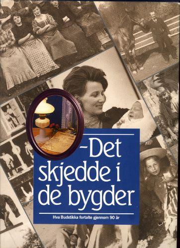 DET SKJEDDE I DE BYGDER-  Hva Budstikka fortalte gjennom 90 år. Asker og Bærums Budstikke.
