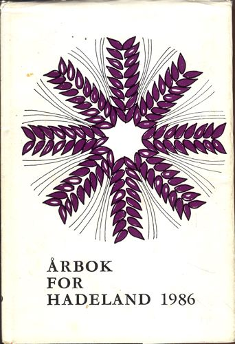 ÅRBOK FOR HADELAND.