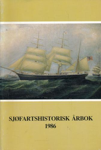 SJØFARTSHISTORISK ÅRBOK 1986.