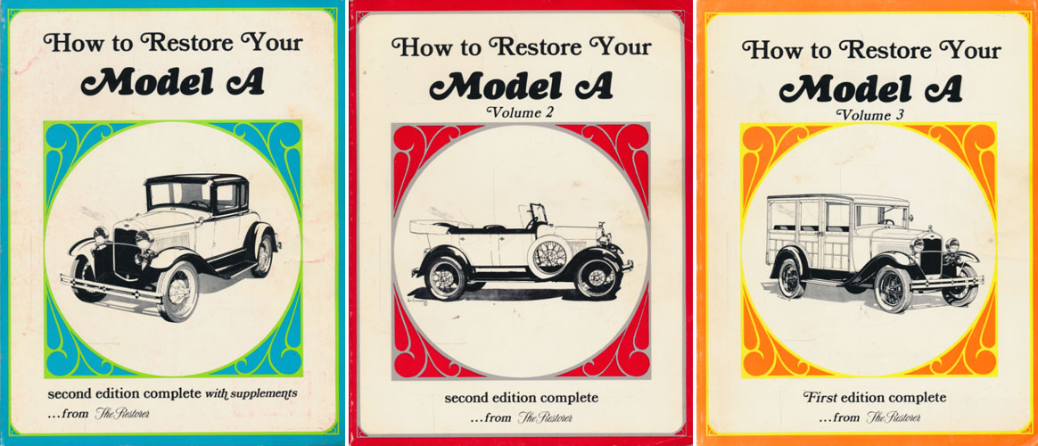 HOW TO RESTORE YOUR MODEL A SECOND EDITION. (FORD)