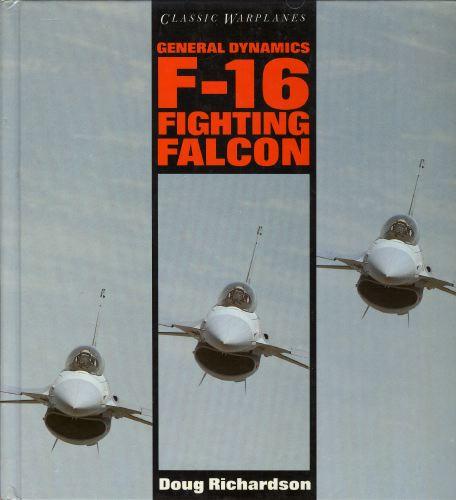 Classic warplanes. General dynamics F-16 fighting Falcon.