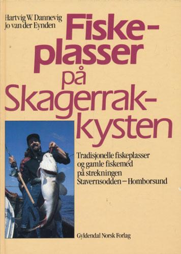 Fiskeplasser på Skagerakkysten. Tradisjonelle fiskeplasser og gamle fiskemed på strekningen Stavernsodden - Homborsund.