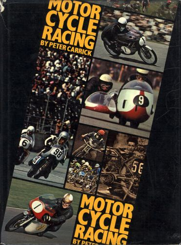 Motorcycle racing.