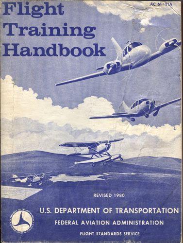 FLIGHT TRAINING HANDBOOK.
