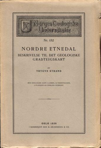 Nordre Etnedal. Beskrivelse til de geologiske gradteigskart.
