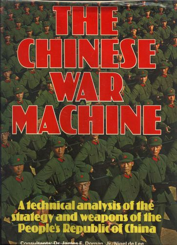 The Chinese war-machine.