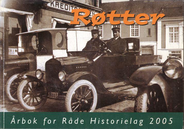 RØTTER.  Årbok for Råde Historielag.