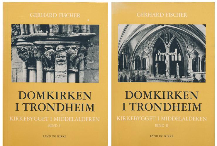 Domkirken i Trondheim. Kirkebygget i middelalderen.
