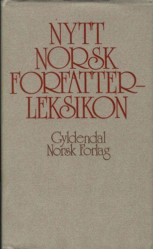 Nytt norsk forfatterleksikon.