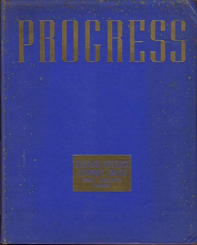 PROGRESS.  An illustrative presentation by burrard dry dock company. 1894-1946.