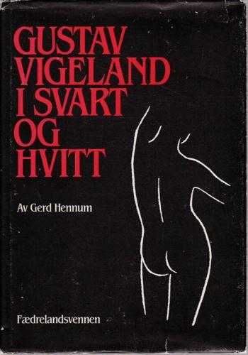 Gustav Vigeland i svart og hvitt.