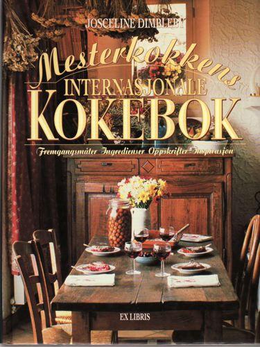 Mesterkokkens internasjonale kokebok. Redaktør for den norske utgaven: Ellen C. Daatland.