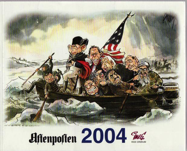 Aftenposten '2004. Utgitt av Aftenposten.